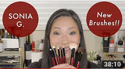 SONIA G. – 8 New Brushes!! Demo & Review